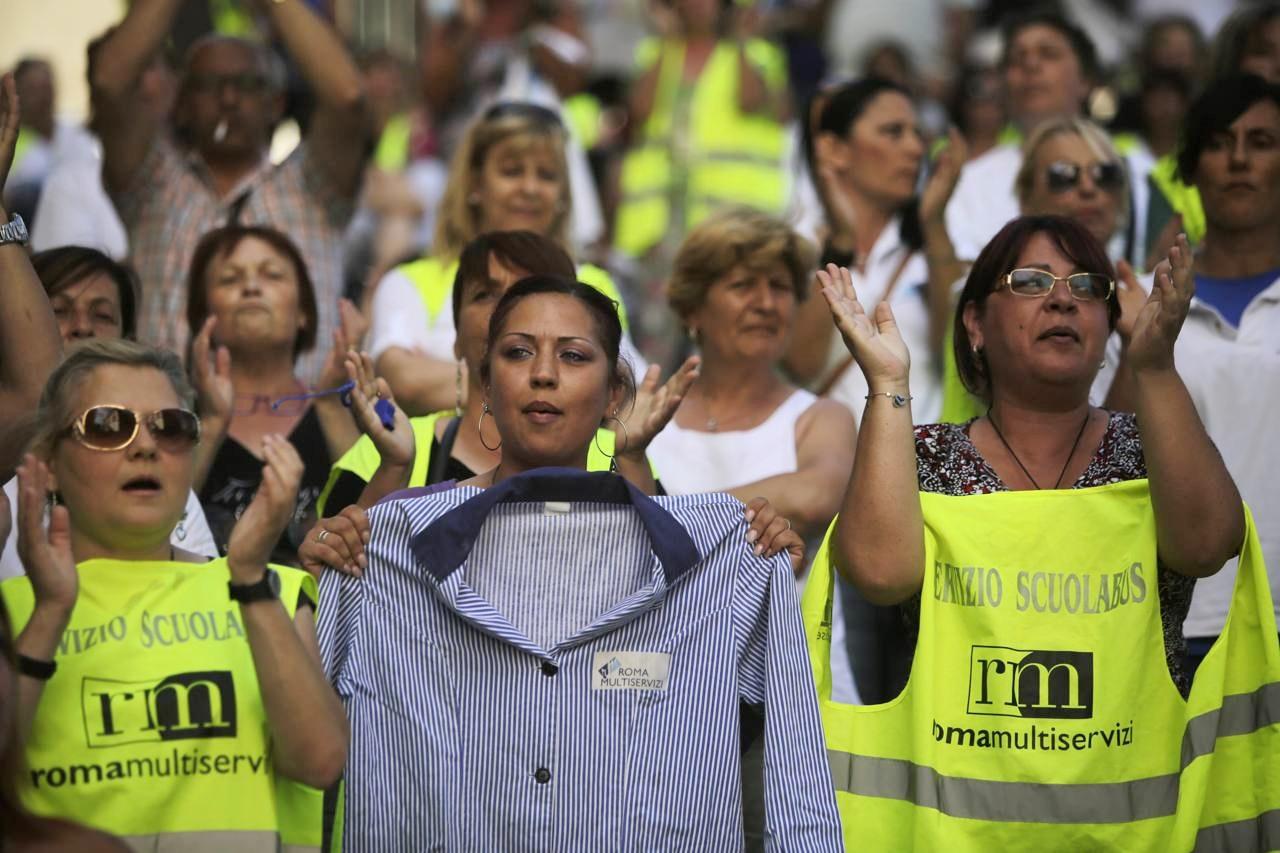 Roma, mobilità per 400 lavoratori