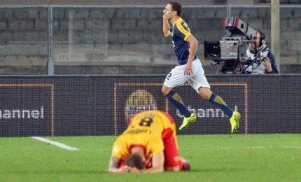 Verona-Benevento 1-0, decide una rete di Romulo