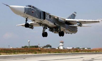 Siria, cacciabombardiere russo si schianta al decollo