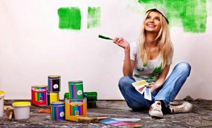 Fai da te, come dipingere una parete di casa