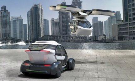 Il futuro degli Emirati Arabi, entro cinque anni le auto pubbliche voleranno. Arriva anche il robot poliziotto
