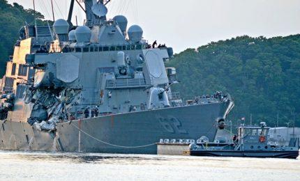 Marina Usa fa acqua, quinta collisione cacciatorpediniere