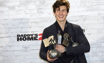 Shawn Mendes trionfatore agli Mtv European Music Awards