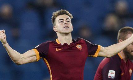 Roma travolge 3-0 il Chelsea e vola verso gli Ottavi