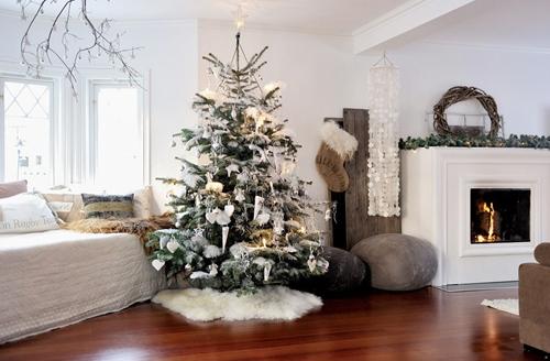 Alberi Di Natale In Legno Addobbati : Natale tendenze e idee per albero e addobbi natalizi