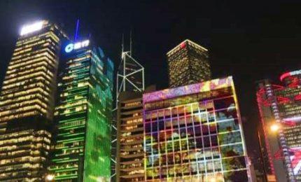 Festa delle Luci, sulla scia di Lione Hong Kong si illumina