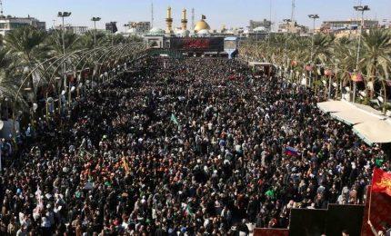 Sciiti celebrano al Arbaeen, 13 milioni di musulmani in pellegrinaggio in Iraq