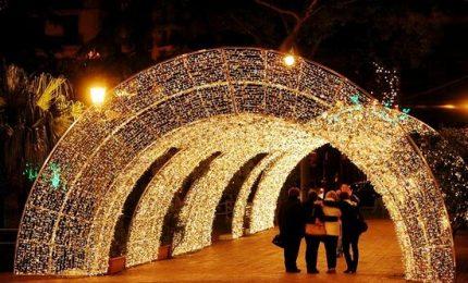 Natale 2017, torna la magia delle Luci d'artista a Salerno