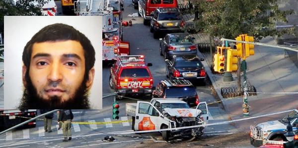 """Torna l'incubo terrorismo a New York, 8 morti. Al grido """"Allahu Akbar"""", uzbeko 29enne si schianta con furgone sui passanti"""