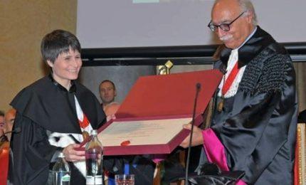 Cristoforetti, laurea ad honorem in Bioingegneria