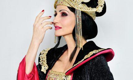 Lorella Cuccarini splendida e malvagia Turandot