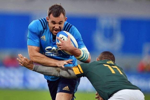 Italia-Sudafrica 6-35 nell'ultimo test match