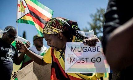 Zimbabwe, manifestanti chiedono fine era Mugabe