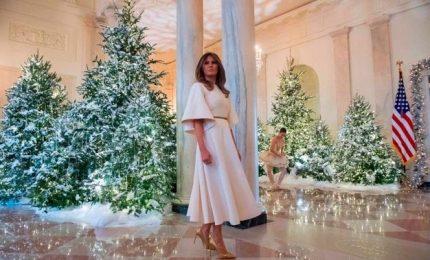 Le decorazioni di Natale dei Trump alla Casa Bianca