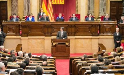 Catalogna, prima notte in carcere per Carle Forcadell