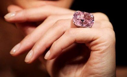All'asta Raj Pink, il diamante rosa più grande al mondo