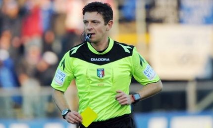 Arbitri serie A, Rocchi per il derby di Roma, Doveri a Napoli