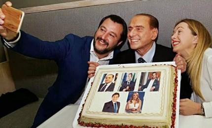 Berlusconi-Salvini-Meloni verso le Politiche