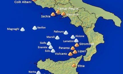 Scoperti nel Mar Tirreno 7 nuovi vulcani sommersi, e siamo a 15. Nuovi scenari per evoluzione crosta terrestre