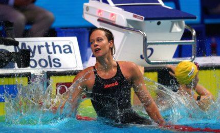 Mondiali corta: Detti di bronzo nei 400 sl, Pellegrini quarta