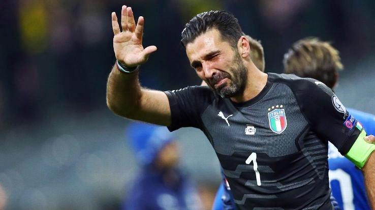 """L'annuncio Buffon: """"Con l'Italia ho finito"""""""