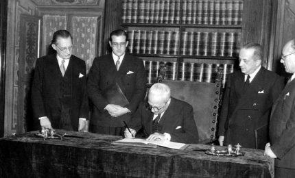 La Costituzione compie 70 anni, Senato apre al pubblico sala firma