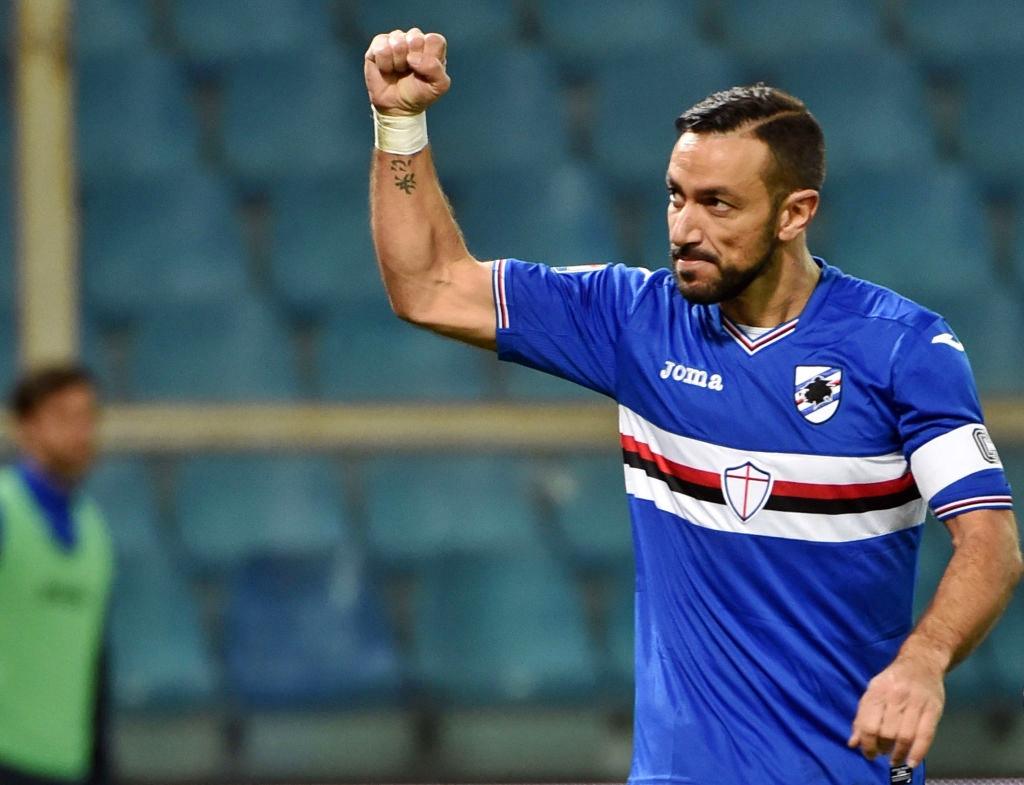 Cagliari-Sampdoria 2-2, doppietta di Quagliarella