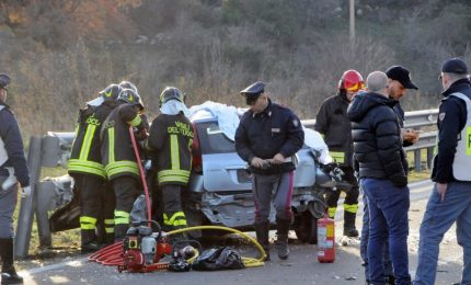 Incidente stradale: 2 fratelli morti nel Nuorese, grave un terzo