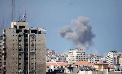 Israele colpisce Striscia di Gaza dopo lancio razzo