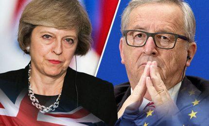 """May a Bruxelles per rinegoziare, ma è già fumata nera. Juncher: """"Non c'e' margine di manovra"""""""