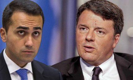 Lite M5s-Renzi su euro. E Di Maio apre a alleanze post voto