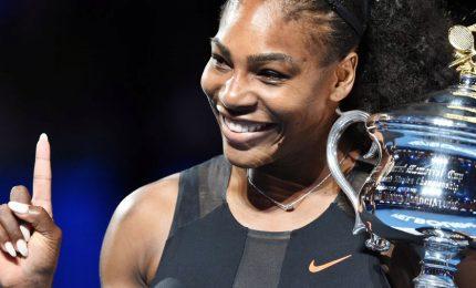 Serena Williams dopo un anno torna in campo