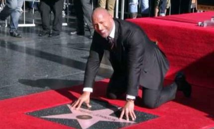 Una stella per Dwayne 'The Rock' Johnson sulla Walk of Fame