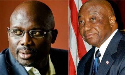 Liberia, domani ballottaggio: scelta tra Weah e Boakai