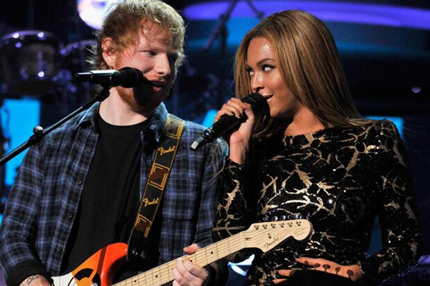 Beyoncé nel remix di 'Perfect' di Ed Sheeran