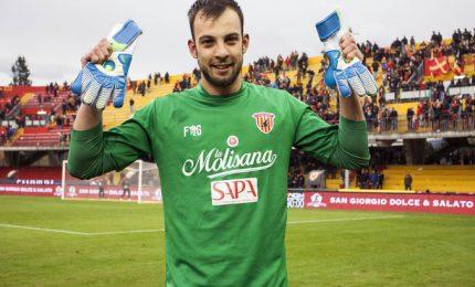 Benevento calcio, tutti pazzi per Brignoli. Anche pizza col suo nome