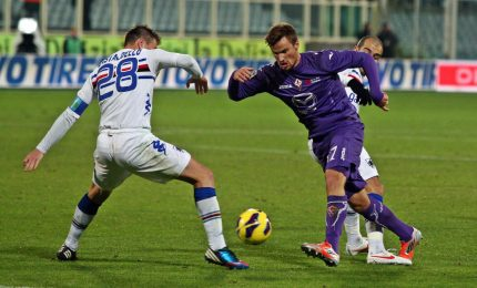 Coppa Italia: Fiorentina ai quarti, Sampdoria ko 3-2