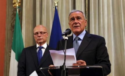 Gli avvertimenti di Grasso: parlo di politica e difendo Camere