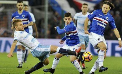La Samp si illude, Lazio vince a Marassi 1-2