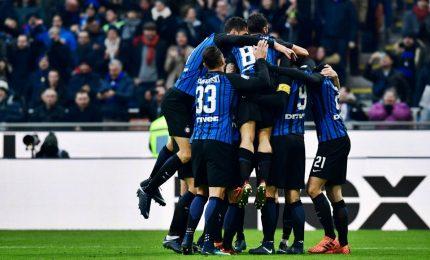 Calcio serie A, le grandi restano a secco e l'Inter mantiene la testa