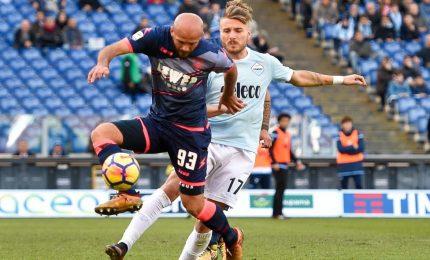 Lazio-Crotone 4-0, calabresi travolti all'Olimpico nella ripresa