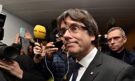 Madrid ritira mandato arresto europeo ma in Spagna Puigdemont verrà arrestato