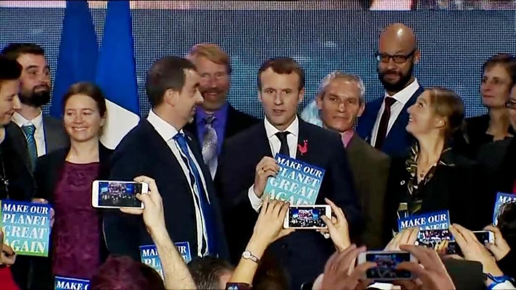 Summit sul clima. Macron: