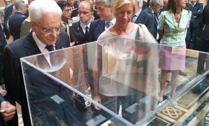 Sergio Mattarella al Sacrario dei caduti dei caduti di Kindu