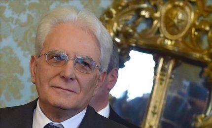 Magistratura, auguri del Presidente Mattarella al Csm