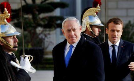 """Netanyahu gela Macron: """"Voi avete Parigi, noi Gerusalemme"""""""