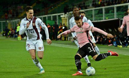 Palermo campione d'inverno, 3-0 alla Salernitana