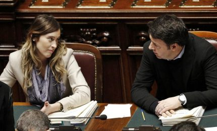 Silvio, Renzi, la Boschi e Grillo. Se il politico ha la valigia in mano