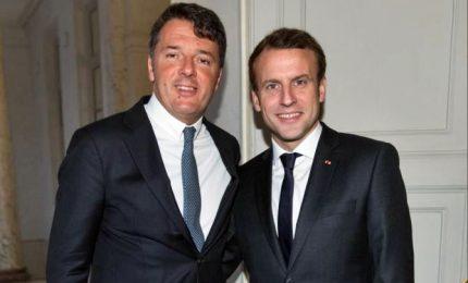 Macron lavora a piattaforma comune con Renzi e Rivera