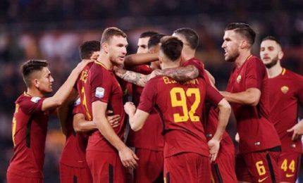 Tutto facile per la Roma contro la Spal, 3-1 all'Olimpico
